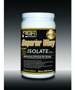MFN 100% Natural Premium Whey Protein Isolate (1.8 lbs / 28 Servings - Chocolate)