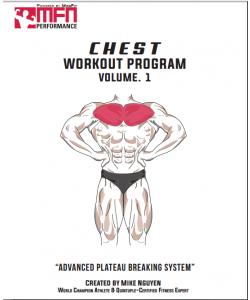 "[E-Book] MFN ""12-Week Plateau-Breaking Program for Chest """
