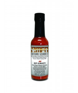 """MFN Healthy Hot Sauce """"Hot Almighty"""" (Ghost Pepper,Habanero & Garlic Blend) *Level 3 Heat EXTREME!"""