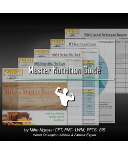 MFN Master Nutrition System by Mike Nguyen (Complete Guide to Flexible Nutrition, Meal Planning, Healthy Foods, Portion Size & Timing Strategies for Both Men & Women) - INSTANT DOWNLOAD E-BOOK
