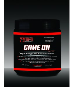 MFN PERFORMANCE GAME ON (Super Energy Pre Workout Performance Drink Mix) - 35 Potent Servings