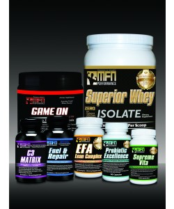 MFN Ultimate Build System (Supreme Size & Muscular Strength Support)