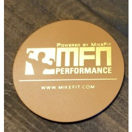 MFN Leather Coasters (For hot or cold mugs, cups, tumblers) - Tan