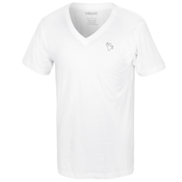 MFN Men's Classic V-Neck Shirt - White