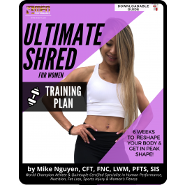 WOMEN'S ULTIMATE SHRED - TRAINING PLAN ONLY