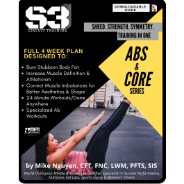 S3 CIRCUIT TRAINING PLAN - ABS SHRED (HOME)