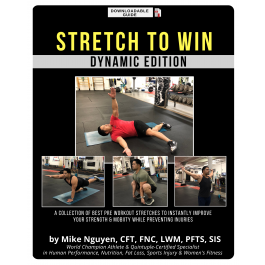 STRETCH TO WIN GUIDE - Pre Workout Stretch Edition