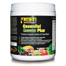 MFN PERFORMANCE ESSENTIAL GREENS (Green Super-Food Drink) - 30 Servings - Buy 3 for price of 2!