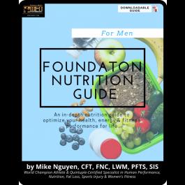 MFN FOUNDATION NUTRITION PROGRAM - FOR MEN