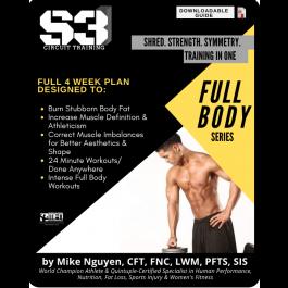S3 CIRCUIT TRAINING PLAN - FULL BODY  (HOME)