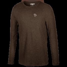 MFN Men's Thermal Long Sleeve Shirt - Brown