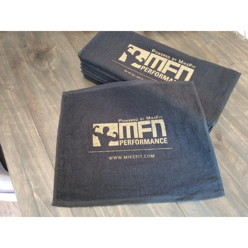 MFN Workout Towel (Black)