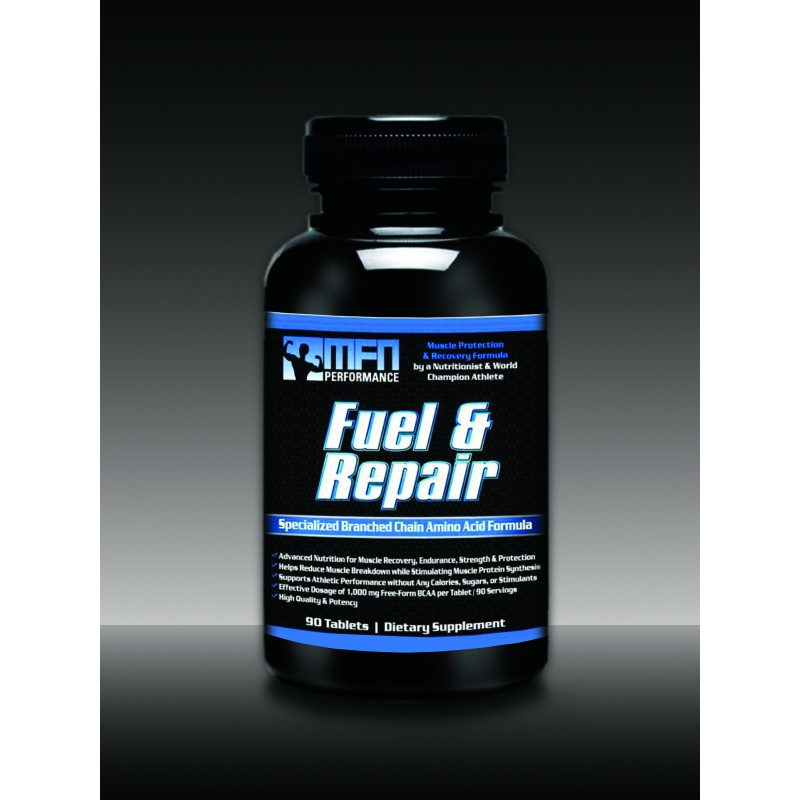 MFN PERFORMANCE FUEL & REPAIR (BCAA Amino Acid Formula for Muscle Protection & Recovery) - 90 Extra Potent Tablets