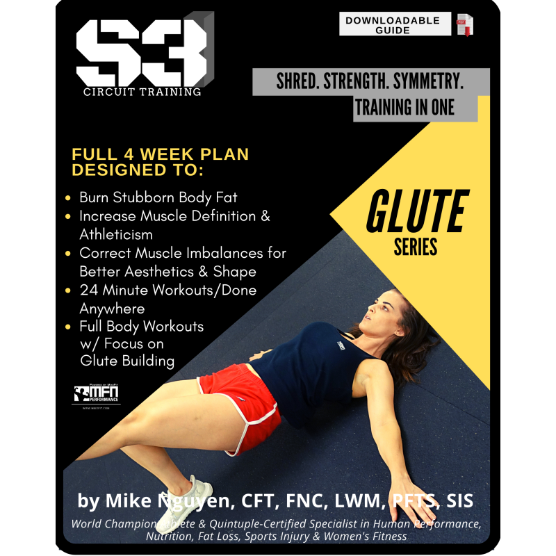 S3 CIRCUIT TRAINING PLAN - GLUTES/BUTT (HOME)