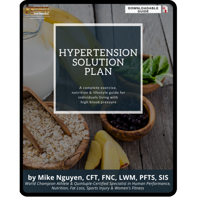 HYPERTENSION SOLUTION PLAN (Natural Ways to Reduce & Control Your Blood Pressure)
