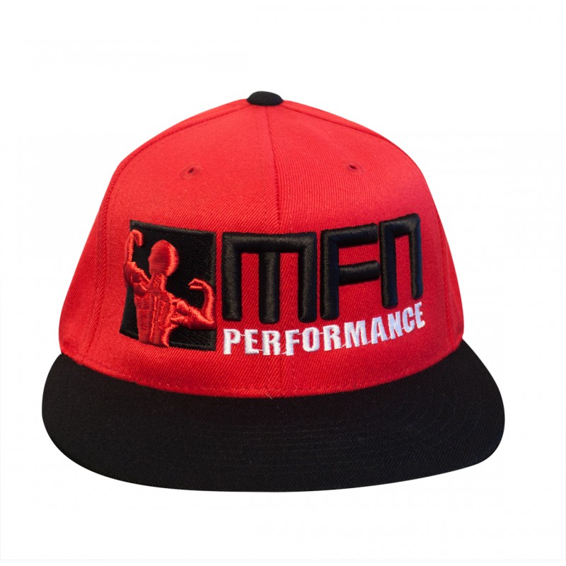 MFN Premium FlexFit Hat (Red/Black)