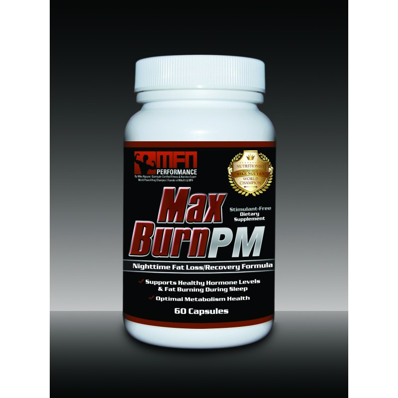 MFN PERFORMANCE MAX BURN PM (Nighttime Recovery Fat Burner) - 60 Capsules * Best Seller