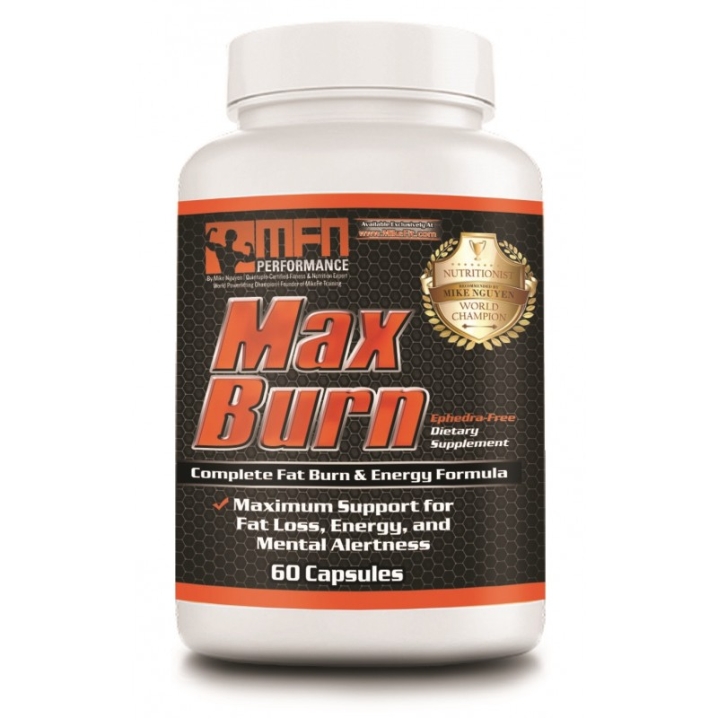 MFN PERFORMANCE MAX BURN (Daytime Energy Fat Burner) - 60 Capsules