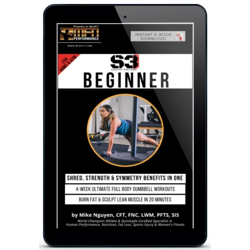 MFN S3 BEGINNER (4-Week Home Workout Plan) - Unisex