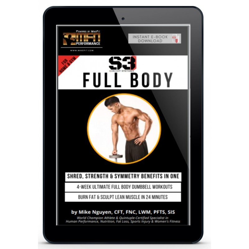 MFN S3 FULL BODY (4-Week Ultimate Home Workout Plan) - Unisex