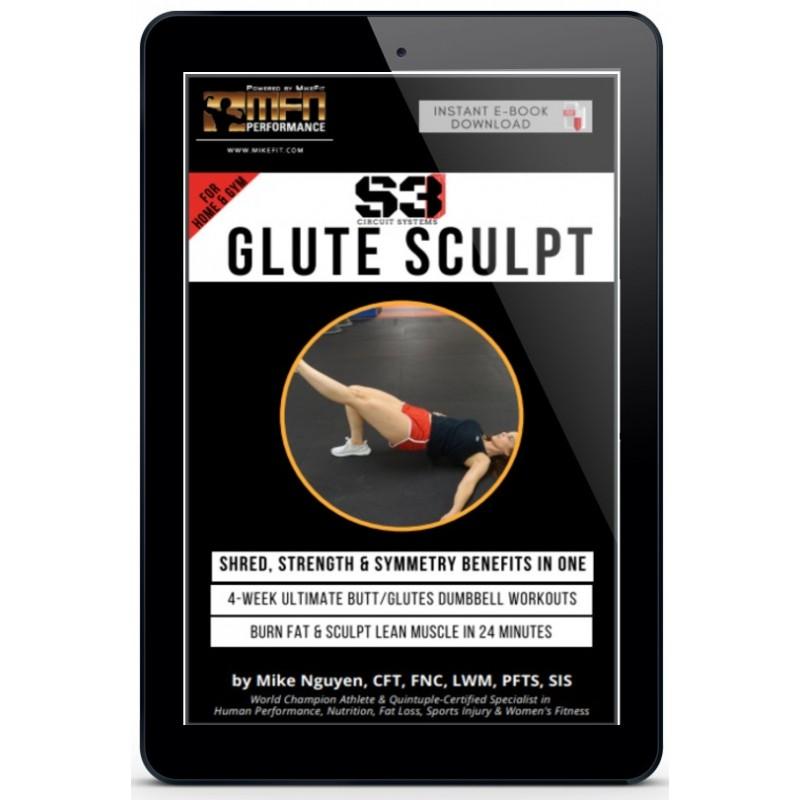 Mfn S3 Glute Sculpt 4 Week Ultimate Home Butt Workout Plan Unisex