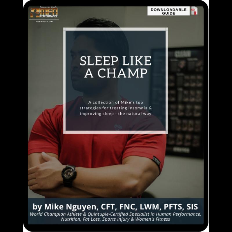 SLEEP LIKE A CHAMP GUIDE
