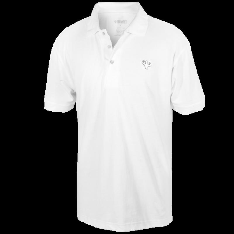 MFN Mens Polo Shirt - White