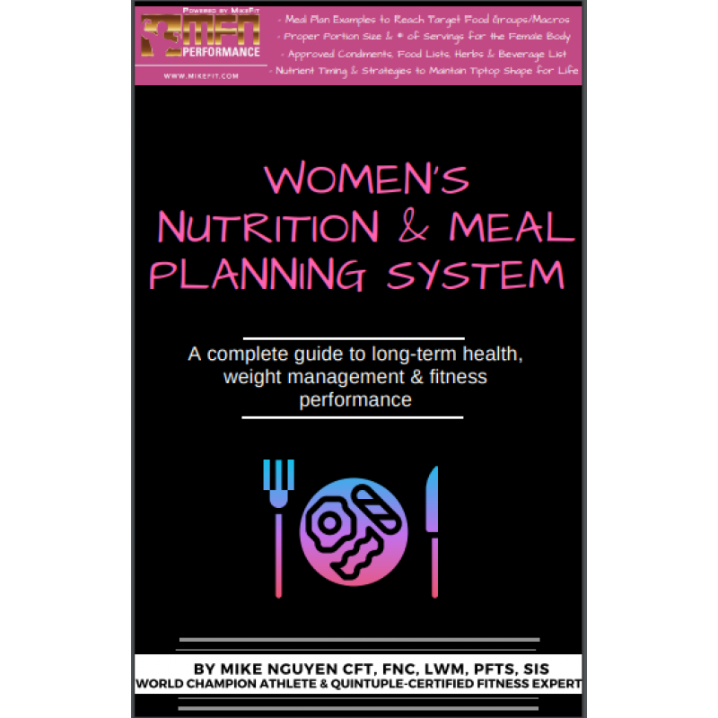 MFN NUTRITION & MEAL PLANNING SYSTEM - FOR HER