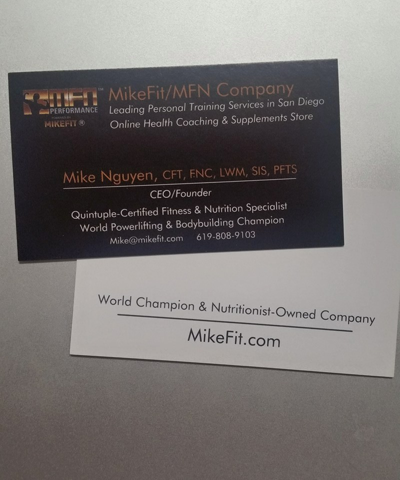 MikeFit MFN Performance w/World Champion Mike Nguyen– Mike\'s ...