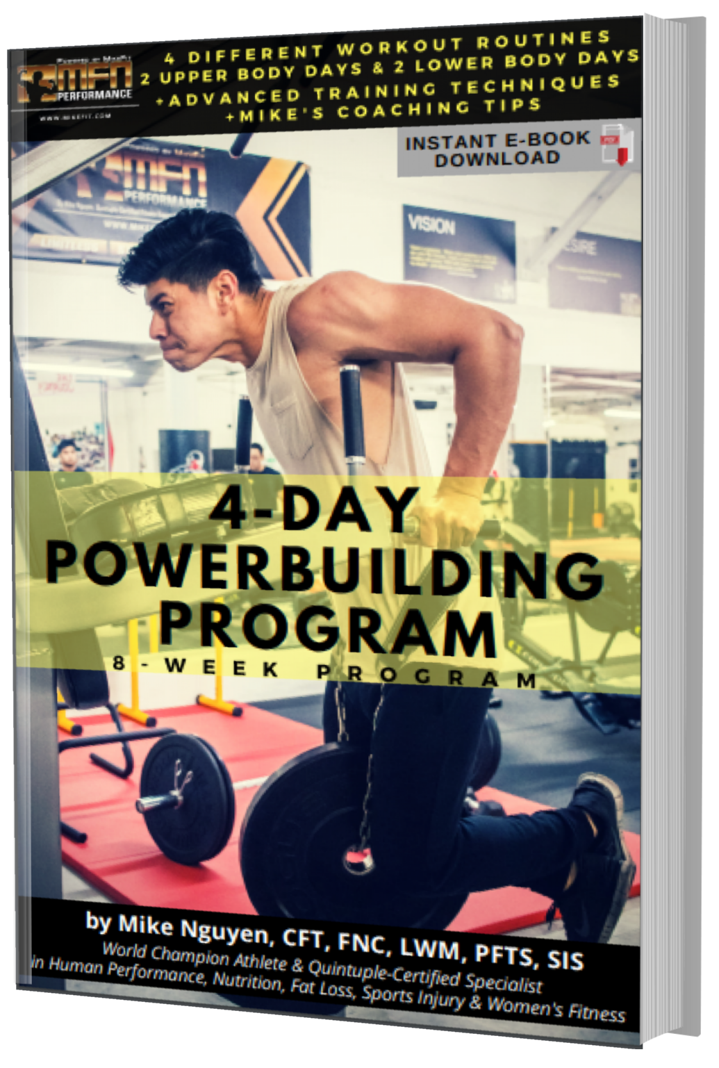 MFN POWER-BUILDING - 8 Week Program - Unisex (GYM)