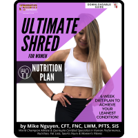 WOMEN'S ULTIMATE SHRED - NUTRITION ONLY