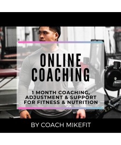 1-MONTH ONLINE COACHING SUPPORT