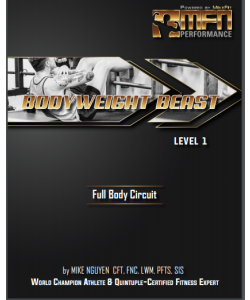 MFN BODYWEIGHT BEAST (Full Bodyweight Workout Plan)