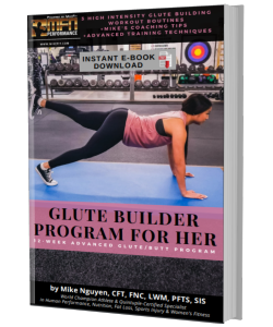 MFN GLUTE BUILDER (3 Advanced Plateau-Breaker Routines For Glutes) : 12 Week Gym Program - Women