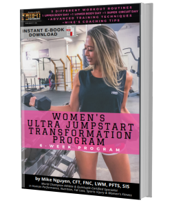 MFN  WOMEN'S ULTRA JUMPSTART TRANSFORMATION - 6 WEEK GYM PROGRAM