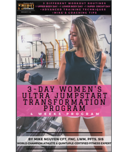 MFN 3-DAY WOMEN'S ULTRA JUMPSTART TRANSFORMATION PROGRAM