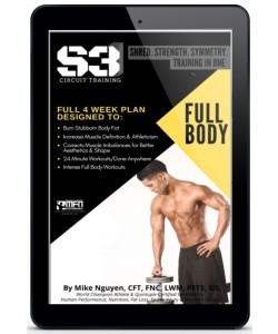 S3 4-WEEK FULL BODY PROGRAM (HOME GUIDE)