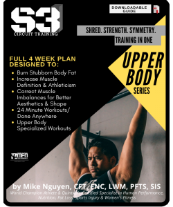 S3 CIRCUIT TRAINING PLAN - UPPER BODY (HOME)