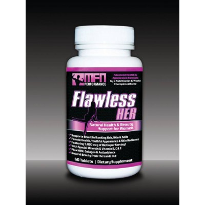 MFN FLAWLESS HER (Hair, Skin & Wellness Formula + 5,000mcg Biotin for Women) - OUT OF STOCK