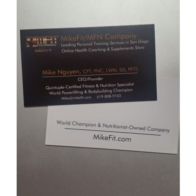 Mike's Personal Business Card