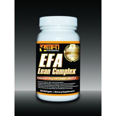 MFN PERFORMANCE EFA LEAN (MD Omega 3 Fish Oil + Flaxseed Oil + CLA Essential Fats) - Top Seller!
