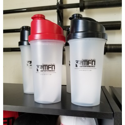 MFN Leak-Free Shaker Cup w/Strainer - Red
