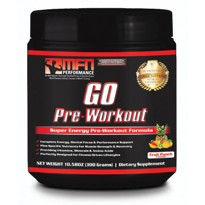 MFN GO Pre-Workout | Fruit Punch