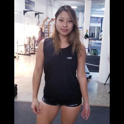 MFN Women's Muscle Scoop Tank - Black