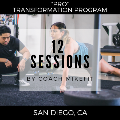 (12) Personal Training Sessions - Pro-Transformation Program