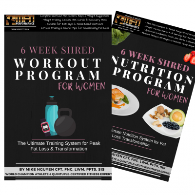 MFN WOMEN'S 6-WEEK SHRED BUNDLE (Advanced Workout + Nutrition System)