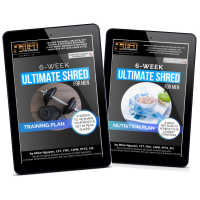 MFN MEN'S 6-WEEK ULTIMATE SHRED BUNDLE (Training + Nutrition)