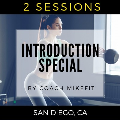 2 Personal Training Session Introductory Pack