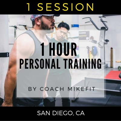 1 Personal Training Session w/Mike