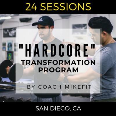 Hardcore Transformation Program ($85 per session)